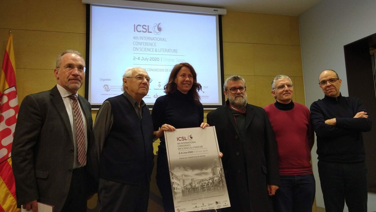 D'esquerra a dreta_Humbert Massegur, Josep Arnau, Marta Madrenas, Juan Ortega, Carlos Gámez, Juan F. Campo