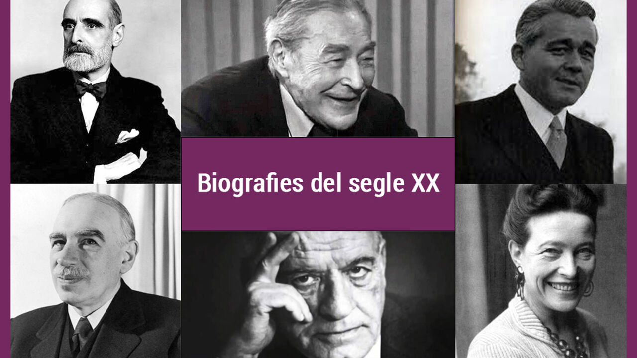 Biografies literàries del segle XX