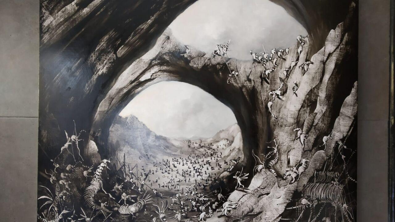 """Exposició """"NIDOS"""" de José Benítez"""