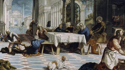 El lavatori. Tintoretto