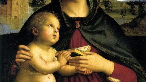 Madonna amb llibre. Rafael Sanzio.