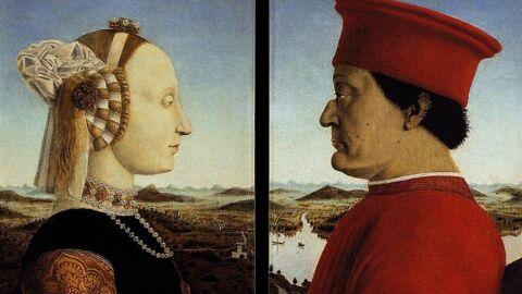 Piero della Francesca. Retrat dels ducs d'Urbino